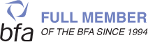 BFA - Full Member Of The BFA Since 1994